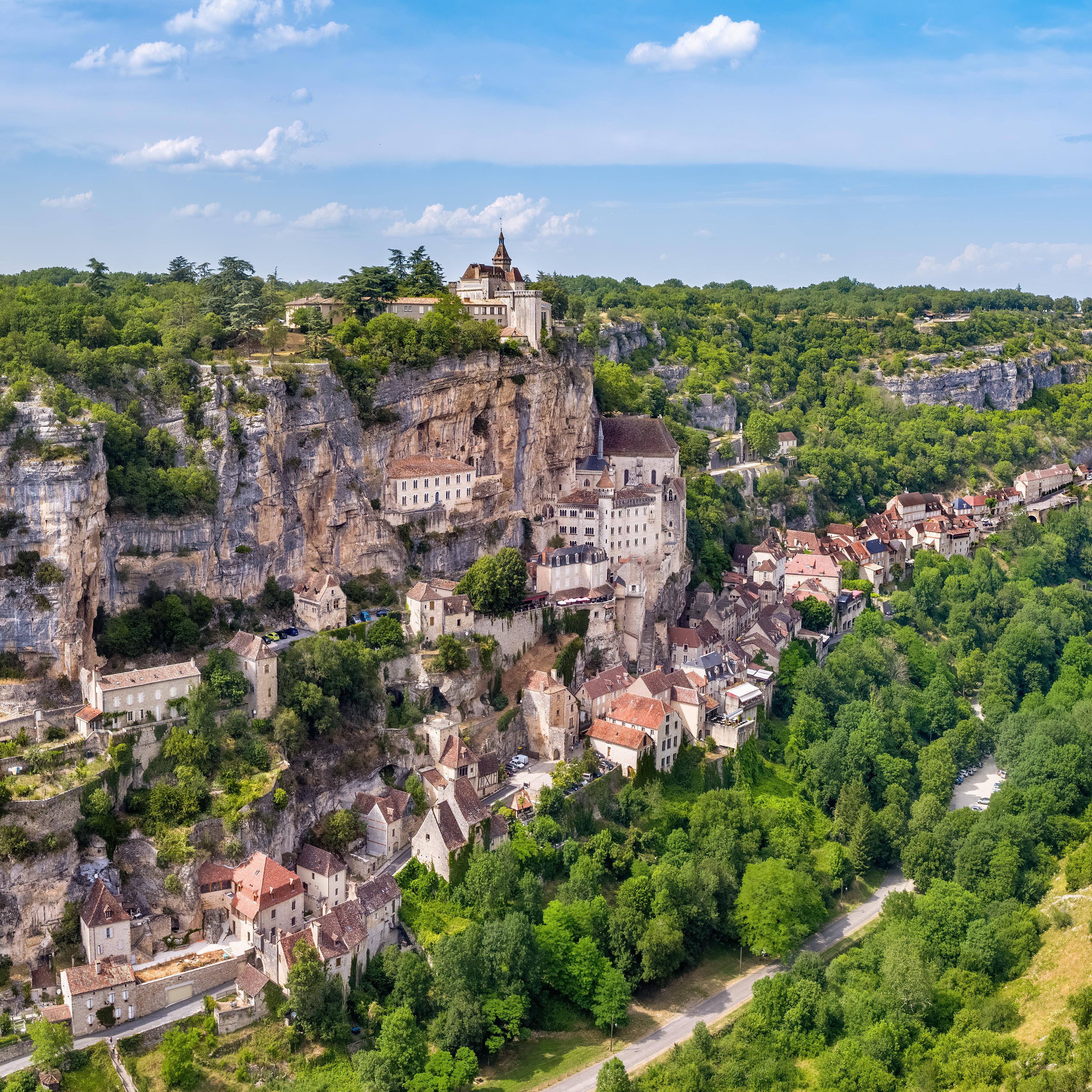 Rocamadour Valle╠üe De L'Alzou ┬® Ventdautan   OT Valle╠üe De La Dordogne